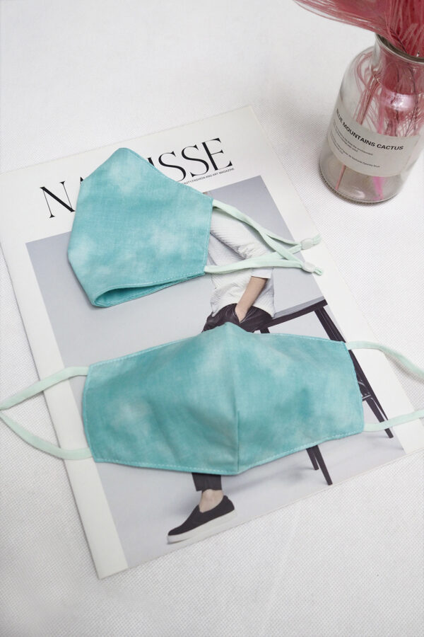 REUSABLE FACE MASK (GREEN)
